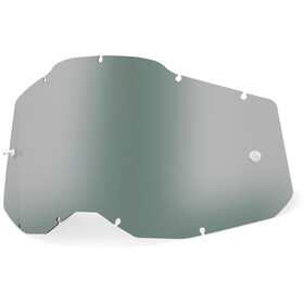 100% Anti-Fog Replacement Lenses Gen2 Youth, Plateado/blanco